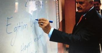 Başbakan Yıldırım'ın imla hatası