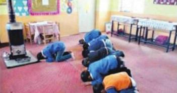 Öğrencilere namaz